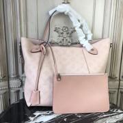 Louis Vuitton M53140 Hina MM Mahina Leather Pink