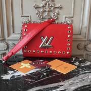 Louis Vuitton M54269 Twist MM Epi Leather Coquelicot
