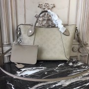 Louis Vuitton M54351 Hina PM Mahina Leather Galet