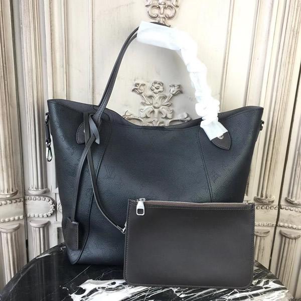 17147f4057e96 Louis Vuitton M54354 Hina MM Mahina Leather Noir