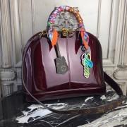 Louis Vuitton M54395 Alma PM Patent Leather Amarante