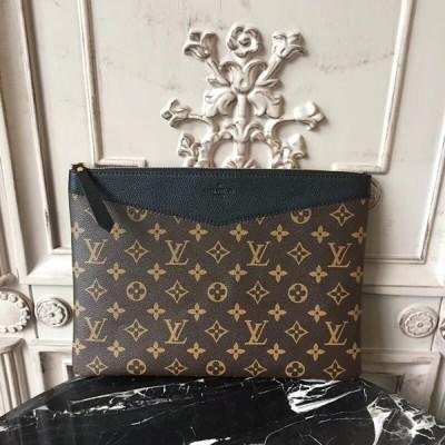 Louis Vuitton M62048 Daily Pouch Monogram Canvas Noir