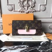 Louis Vuitton M62566 Flower Wallet Monogram Canvas Rose Ballerine