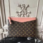 Louis Vuitton M64590 Daily Pouch Monogram Canvas Peche