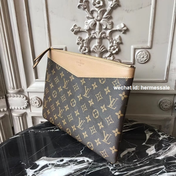 b699062974 Louis Vuitton M64591 Daily Pouch Monogram Canvas Sesame