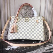 Louis Vuitton N40022 Lymington Damier Azur Canvas