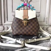 Louis Vuitton N42259 Clapton Backpack Damier Ebene Canvas Creme