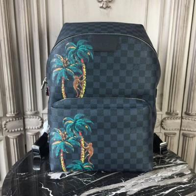 Louis Vuitton N50003 Apollo Backpack Damier Cobalt Canvas
