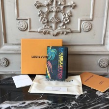 Louis Vuitton N63508 Pocket Organizer Damier Cobalt Canvas