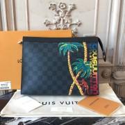 Louis Vuitton N63510 Pochette Voyage MM Damier Cobalt Canvas
