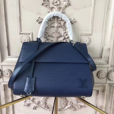 Louis Vuitton M41312 Cluny BB Epi Navy