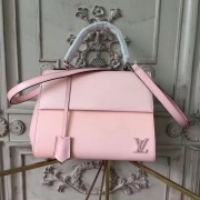 Louis Vuitton M41338 Cluny BB Epi Rose Ballerine