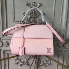 Louis Vuitton M41338 Cluny BB Epi Rose Ballerine