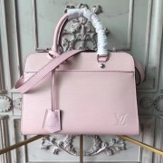 Louis Vuitton M51239 Vaneau MM Epi Leather Rose Ballerine
