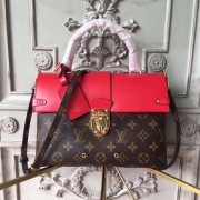 Louis Vuitton M43125 One Handle Flap Bag MM Monogram