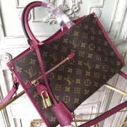 Louis Vuitton M43462 Popincourt PM Monogram Raisin