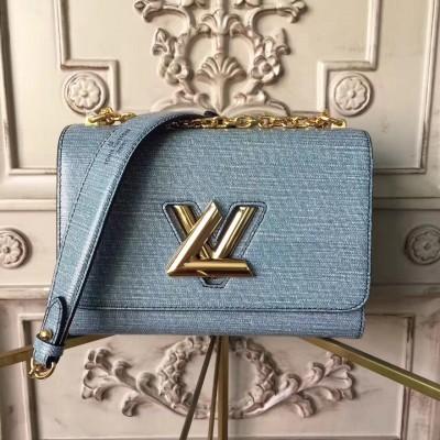 Louis Vuitton M50282 Demin Twist MM Epi Leather
