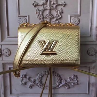 Louis Vuitton M50282 Gold Twist MM Epi Leather