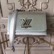 Louis Vuitton M50282 Silver Twist MM Epi Leather