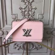 Louis Vuitton M50380 Twist MM Epi Leather Rose Ballerine
