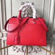Louis Vuitton M51246 Vaneau MM Epi Leather Coquelicot