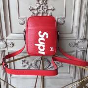 Louis Vuitton x Supreme Danube Epi PM Red M53417