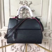 Louis Vuitton M54167 Cluny BB Epi Noir Rose