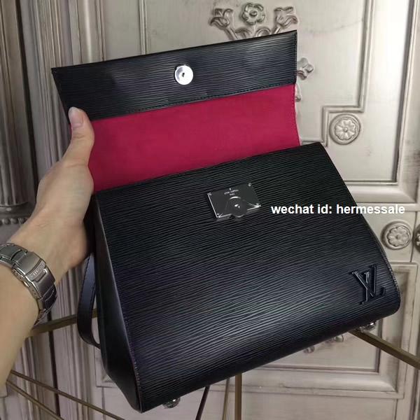 Louis Vuitton M54167 Cluny Bb Epi Noir Rose