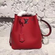 Louis Vuitton M54679 Lockme Bucket Lockme Rubis