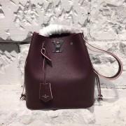 Louis Vuitton M54680 Lockme Bucket Lockme Prune Rose Poudre