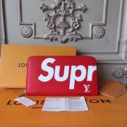 86cda3c179c3 Louis Vuitton x Supreme Zippy Organizer Epi Red M60305