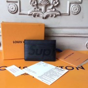 Louis Vuitton x Supreme Porte Carte Simple Epi Black M60703