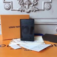 Louis Vuitton x Supreme Pocket Organizer Epi Black M61696