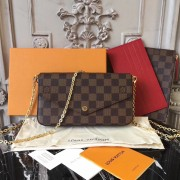 Louis Vuitton N63032 Pochette Félicie Damier Ebene