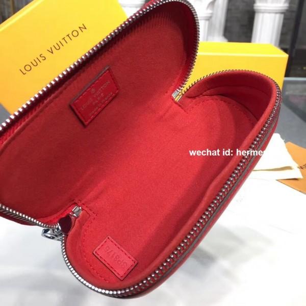 523990d35595 Louis Vuitton GI0196 Glasses Cases Emilie Monogram Canvas Red