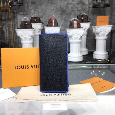 Louis Vuitton M30558 Brazza Wallet Taiga Leather