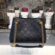 Louis Vuitton M43748 Surene BB Monogram Empreinte Leather Noir