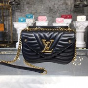 Louis Vuitton M51683 New Wave Chain Bag PM LV New Wave Leather
