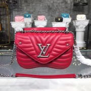 Louis Vuitton M51930 New Wave Chain Bag PM LV New Wave Leather