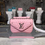 Louis Vuitton M51933 New Wave Chain Bag PM LV New Wave Leather