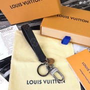 Louis Vuitton M61950 Monogram Eclipse Dragonne Bag Charm and Key Holder