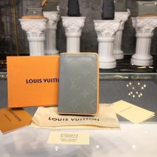 Louis Vuitton M63233 Pocket Organizer Monogram Titanium