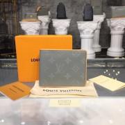 Louis Vuitton M63297 Multiple Wallet Monogram Titanium