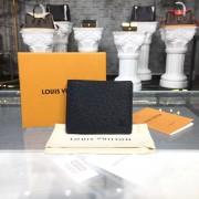 Louis Vuitton M64005 Designer Slender Wallet in Taiga Leather