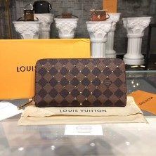 Louis Vuitton N60122 Zippy Wallet Damier Ebene
