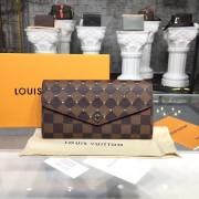 Louis Vuitton N60123 Sarah Wallet Damier Ebene