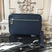 Louis Vuitton M33410 Kasai Clutch Taiga Leather