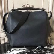 Louis Vuitton M50031 Babylone PM Mahina Noir