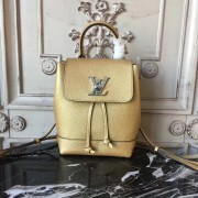 Louis Vuitton M54575 Lockme Backpack Mini Lockme Gold