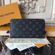 Louis Vuitton M60002 Zippy Organizer Monogram Eclipse Canvas